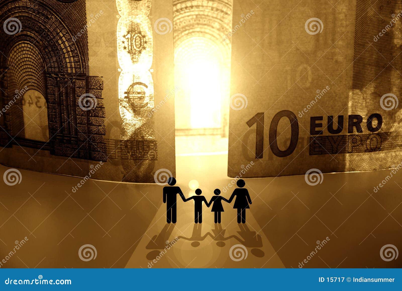 Pengar för kungarike ii som ska välkomnas