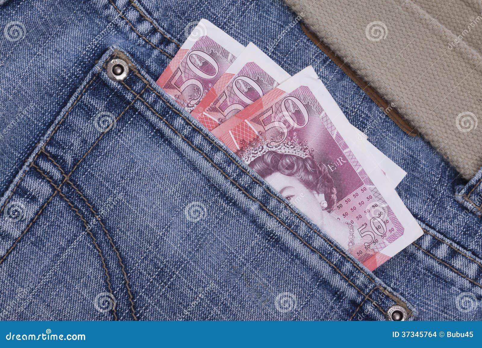 Pengar i ett fack