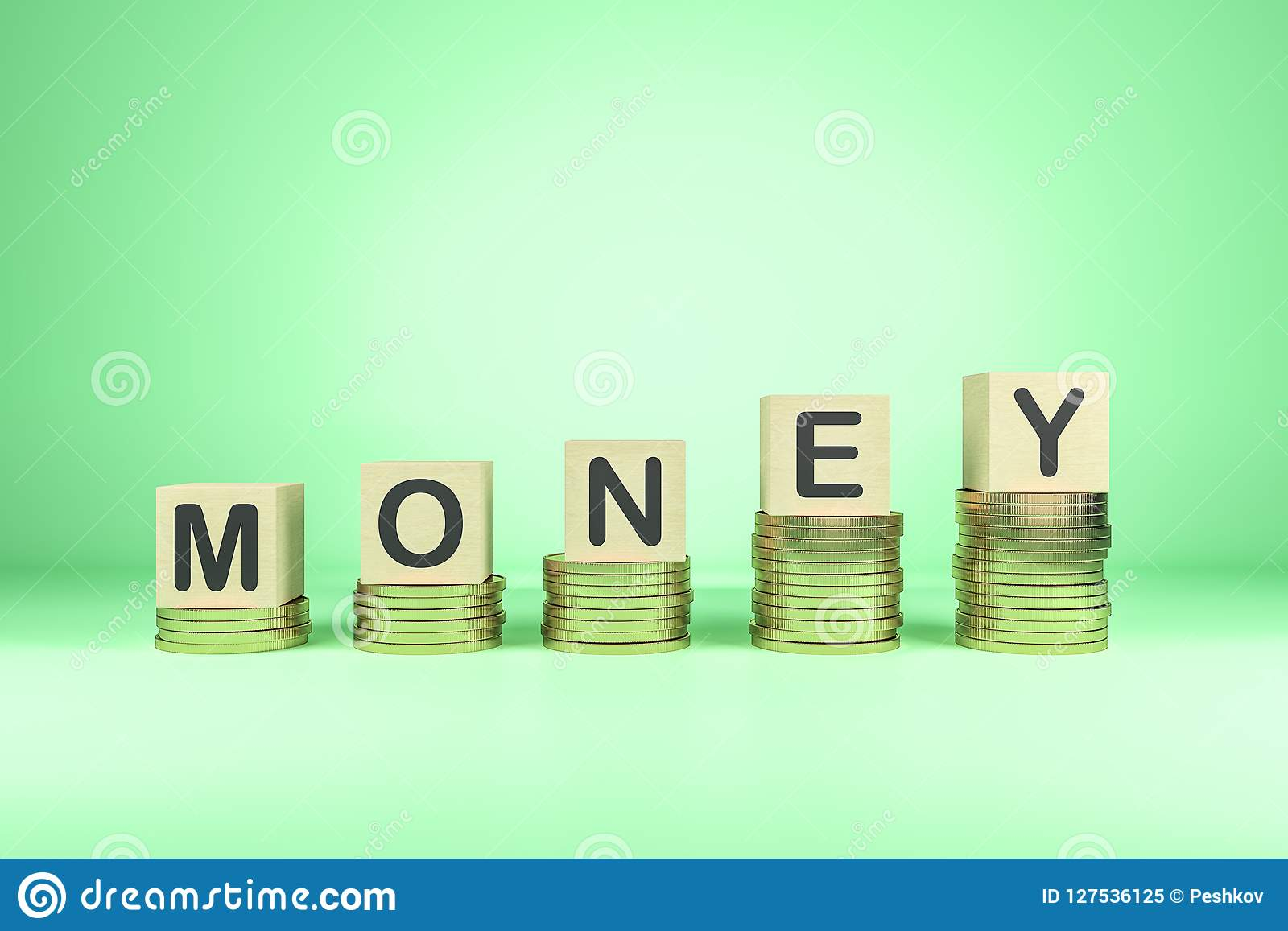 Pengar och rikt begrepp