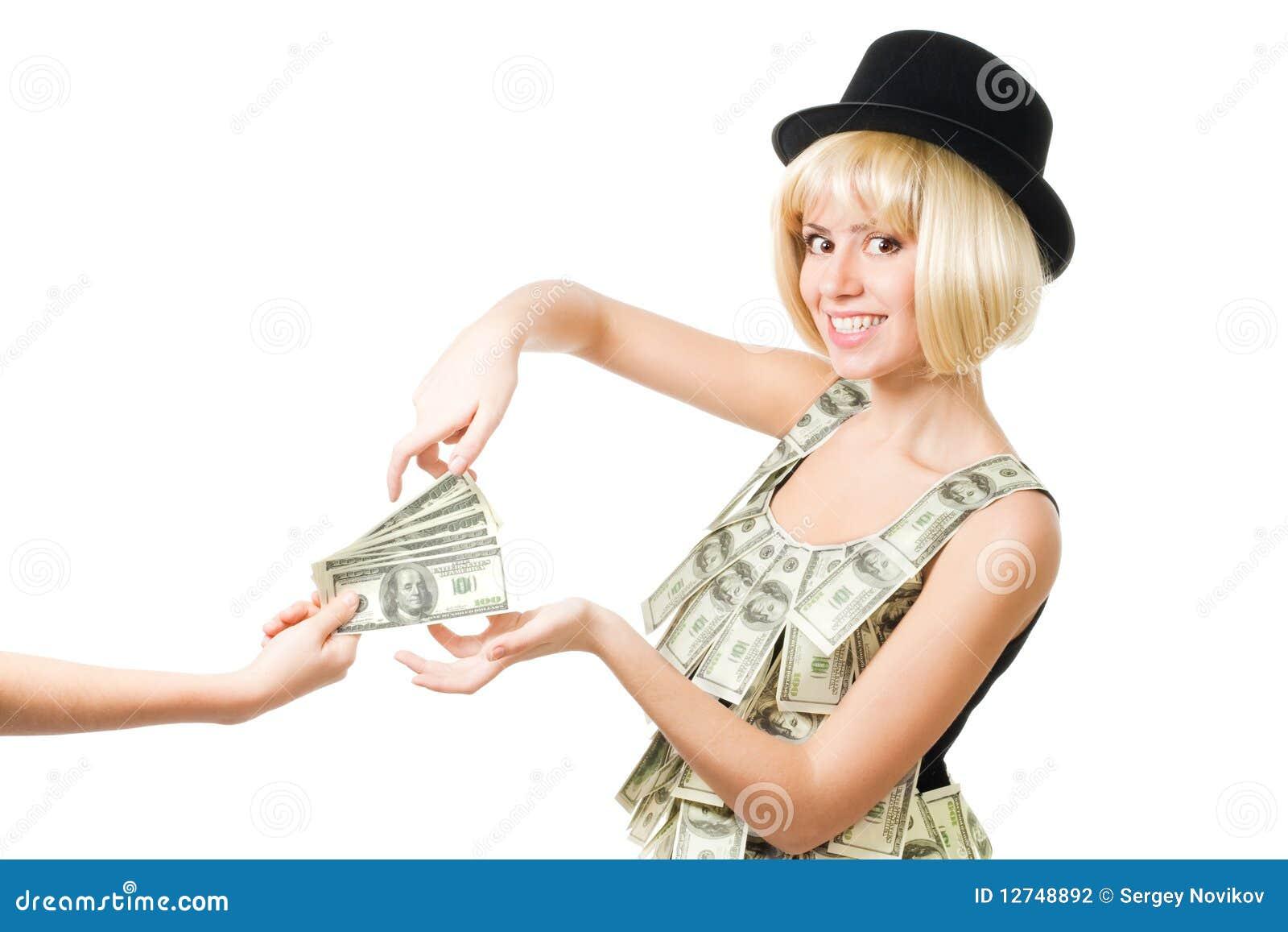 Pengar tar kvinnan
