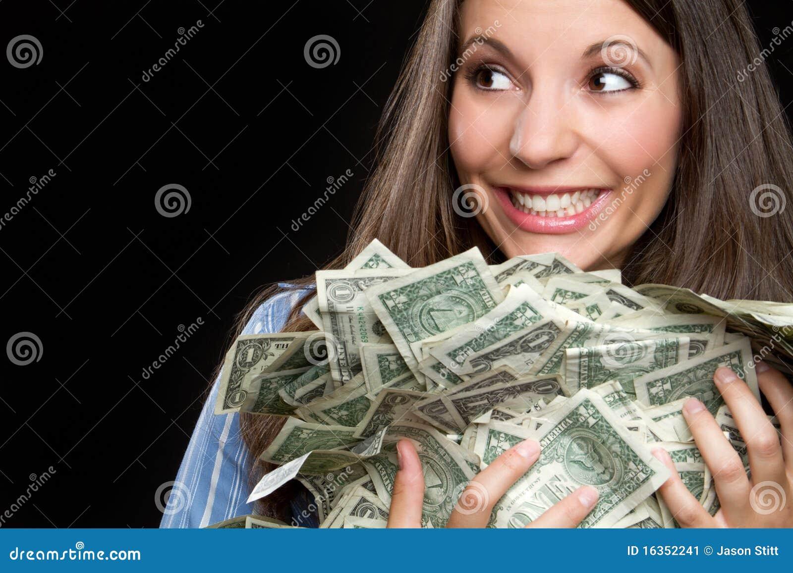 Pengarkvinna