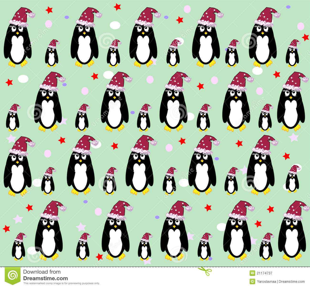 Penguin background vector stock vector. Illustration of cute - 21174737