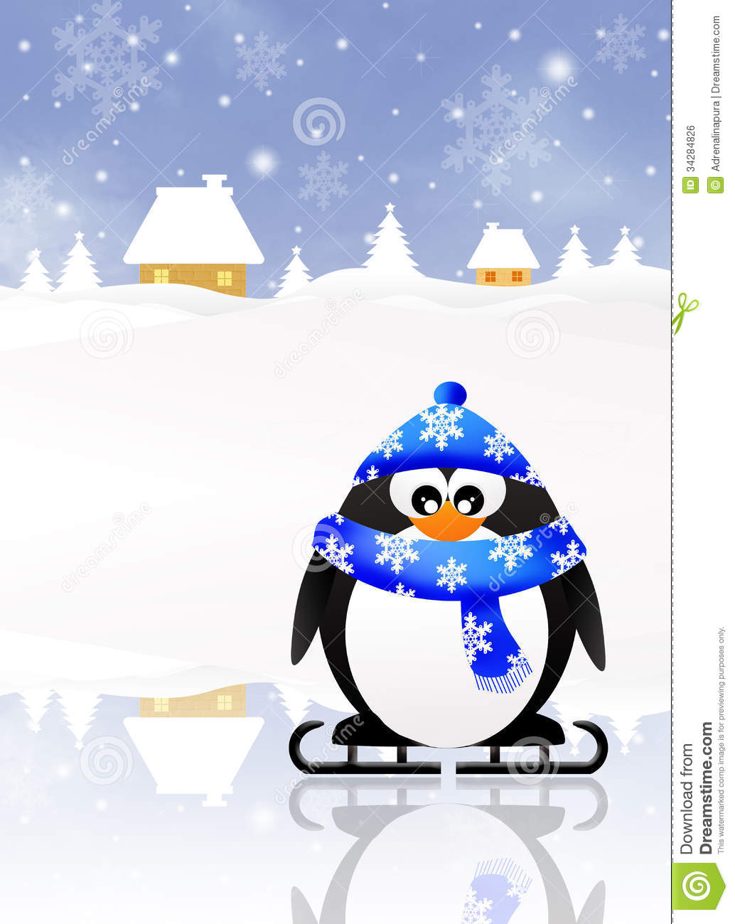 Penguin Cartoon Royalty Free Stock Image - Image: 34284826