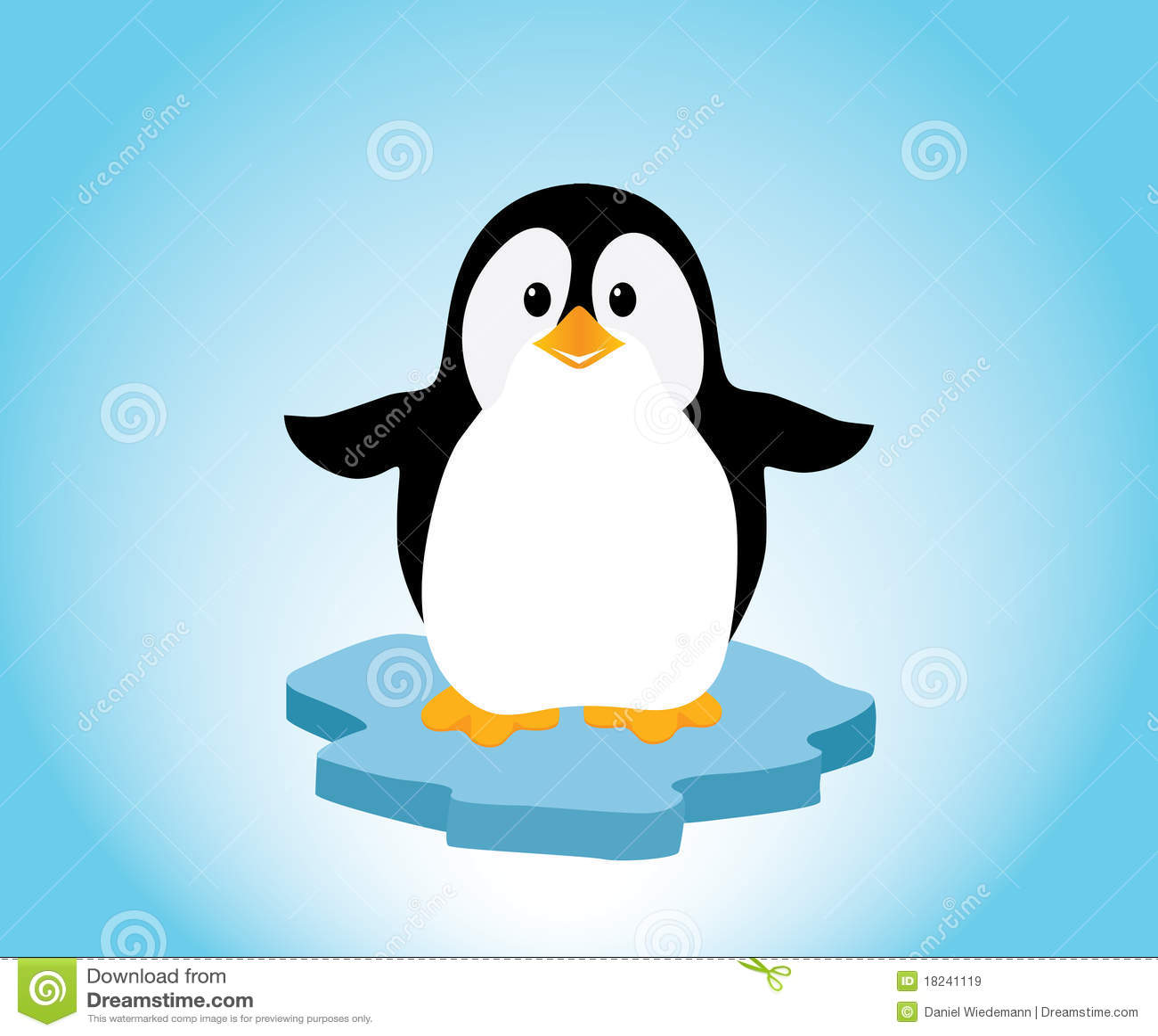 nombre de pinguinos de free penguin clipart