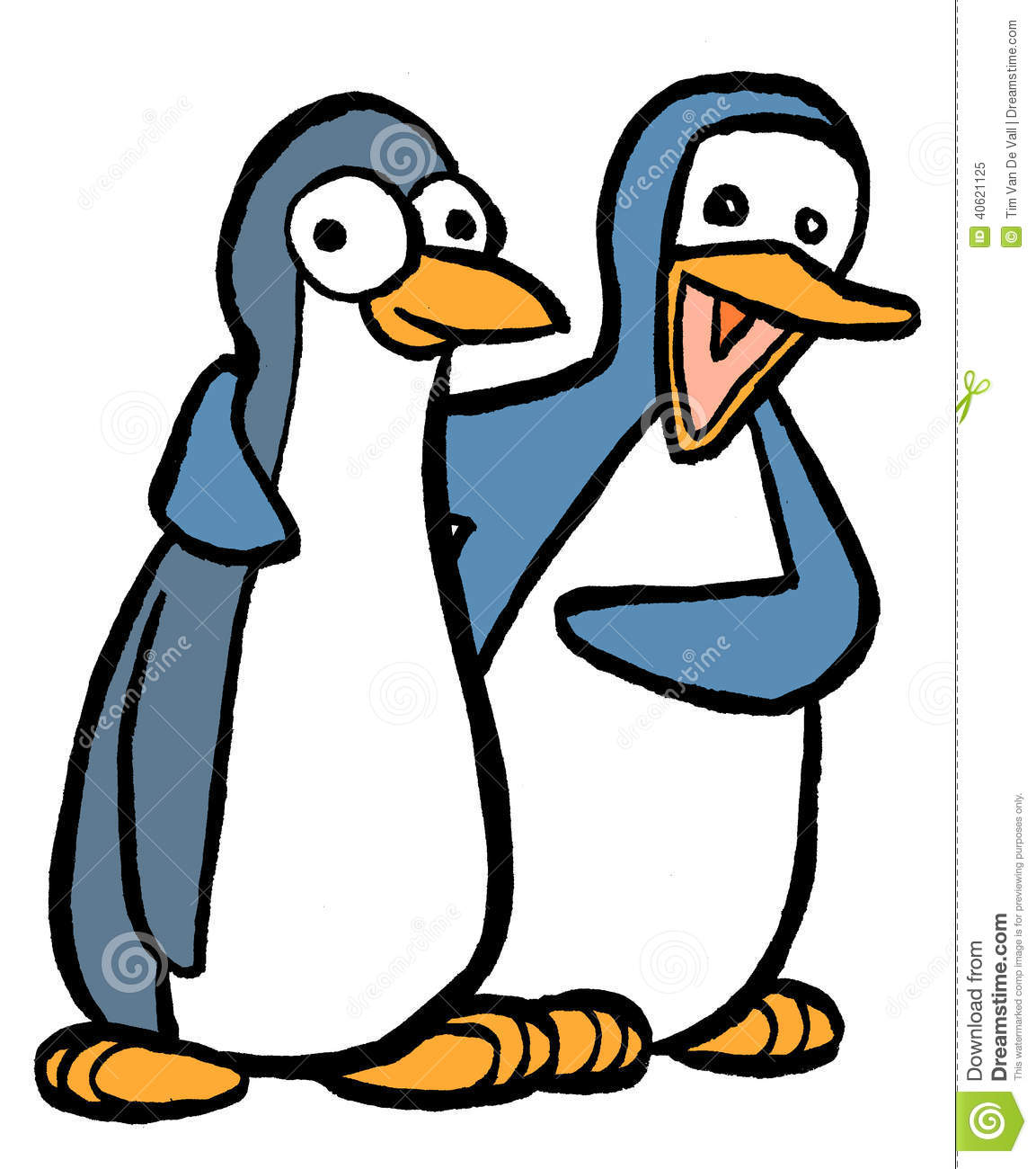 penguin pair stock illustration illustration of penguin clip art penguin images clip art penguin doctor