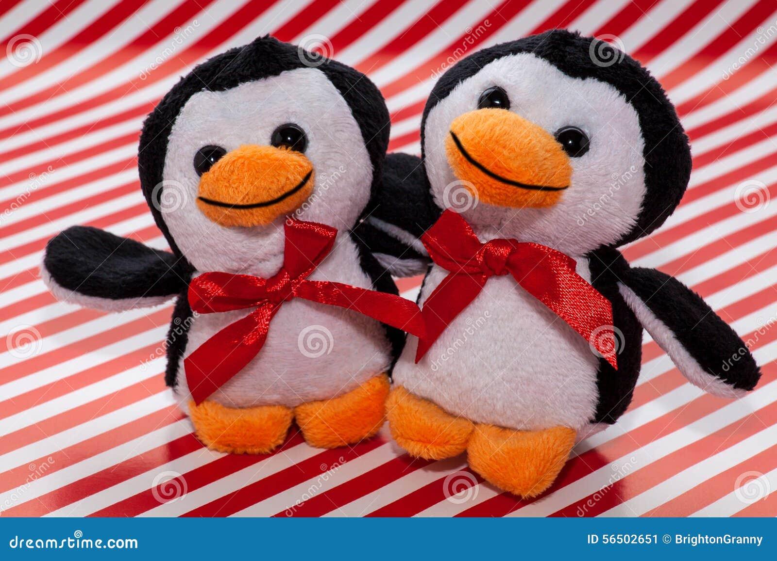 Penguin plush toys