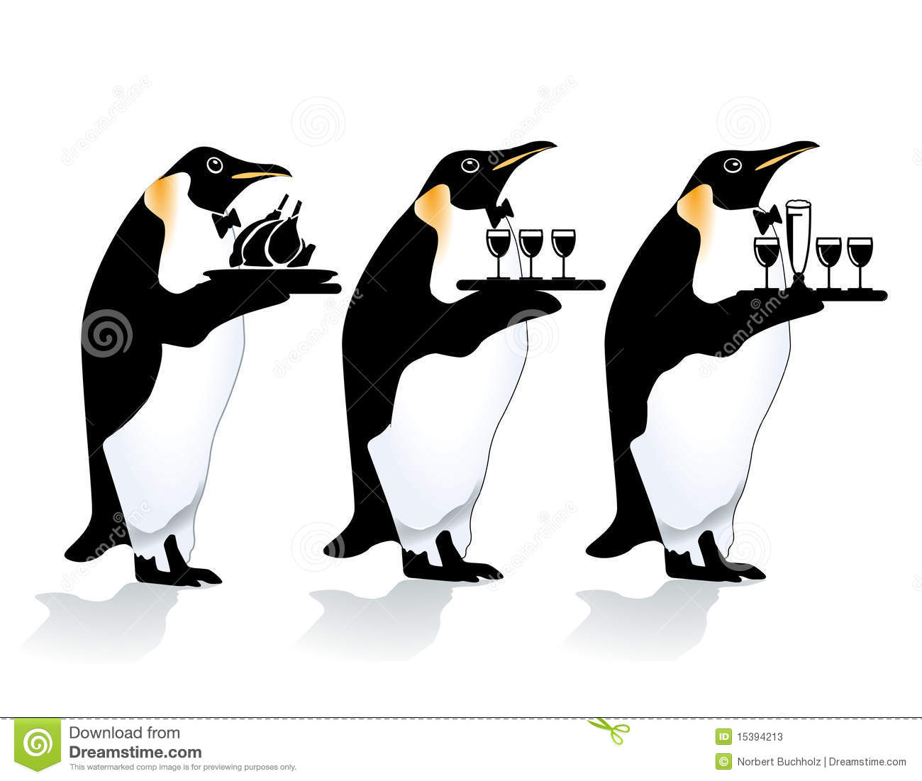 penguin waiter stock vector illustration of chef  roast clipart chevy suburban clipart checklist