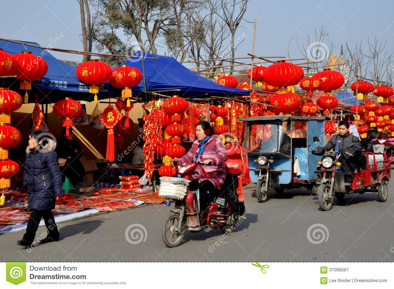 Pengzhou china chinese new year decoration vendors for Decoration vendors