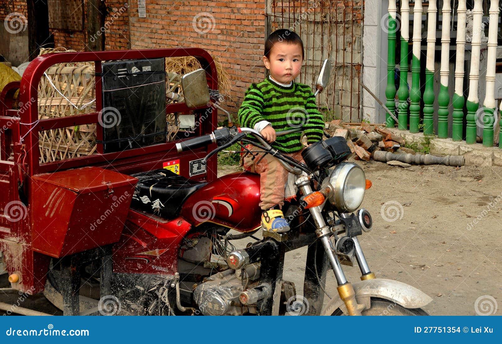 little boy on motorcycle - photo #34