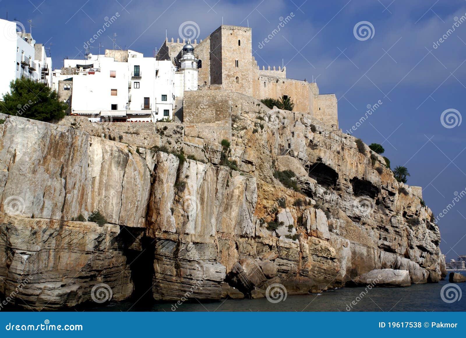 Peniscola Spain  city images : ... of Papa Luna Peniscola Castellon Costa Azahar Spain Maestrat Baix