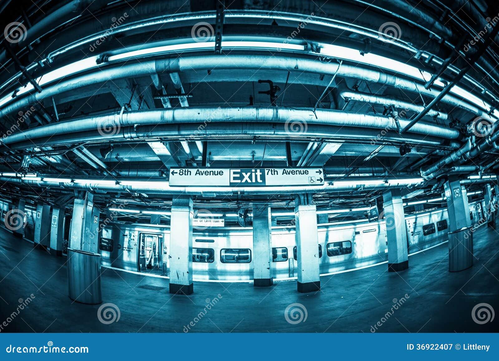 Penn stacja NYC