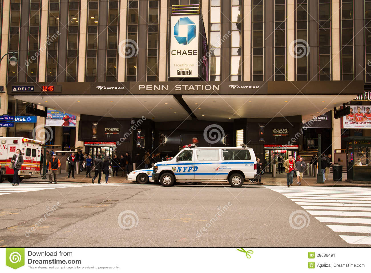 Penn Station / Madison Square Garden Editorial Photo - Image of ...