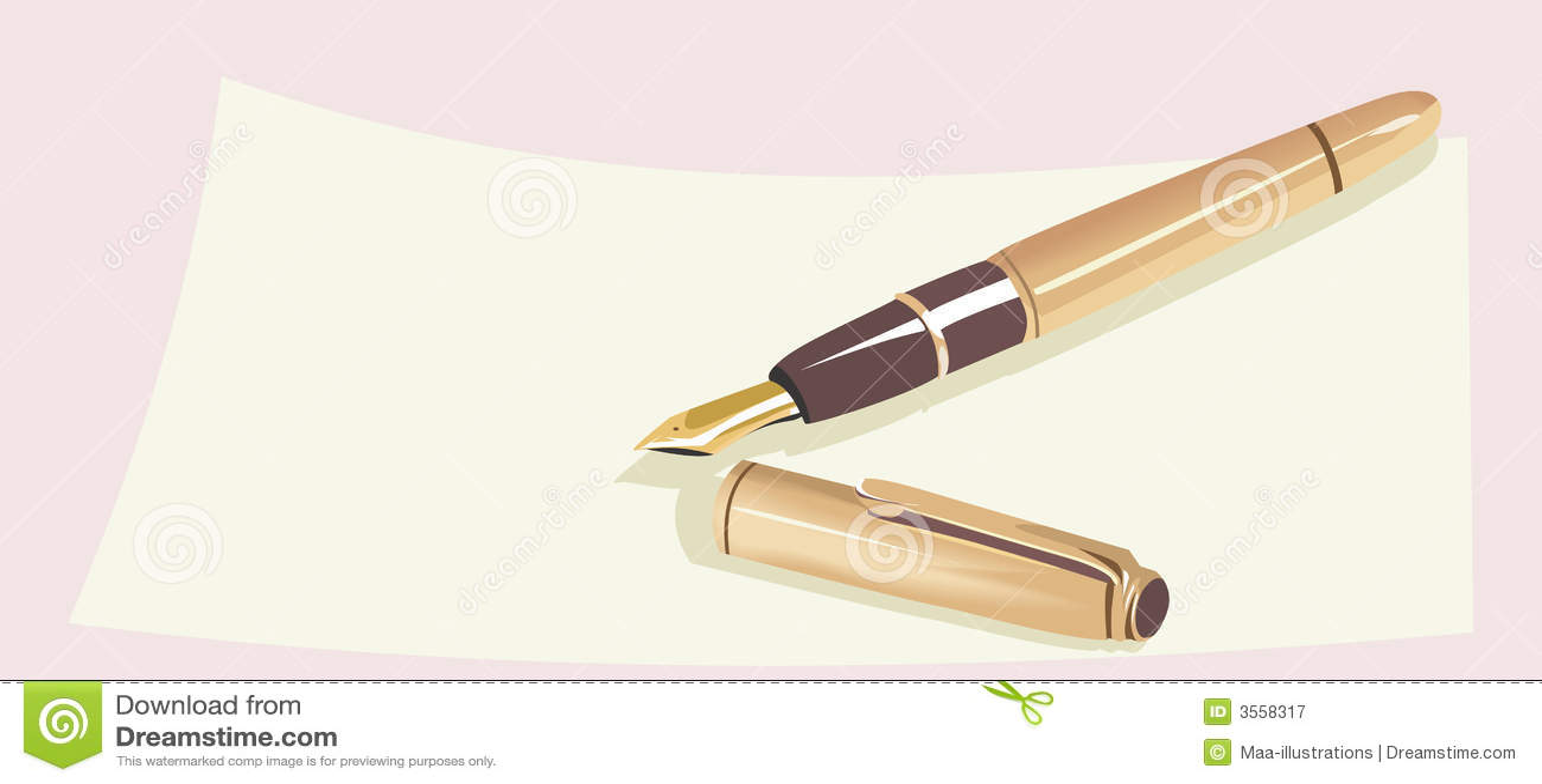 Penna di fontana