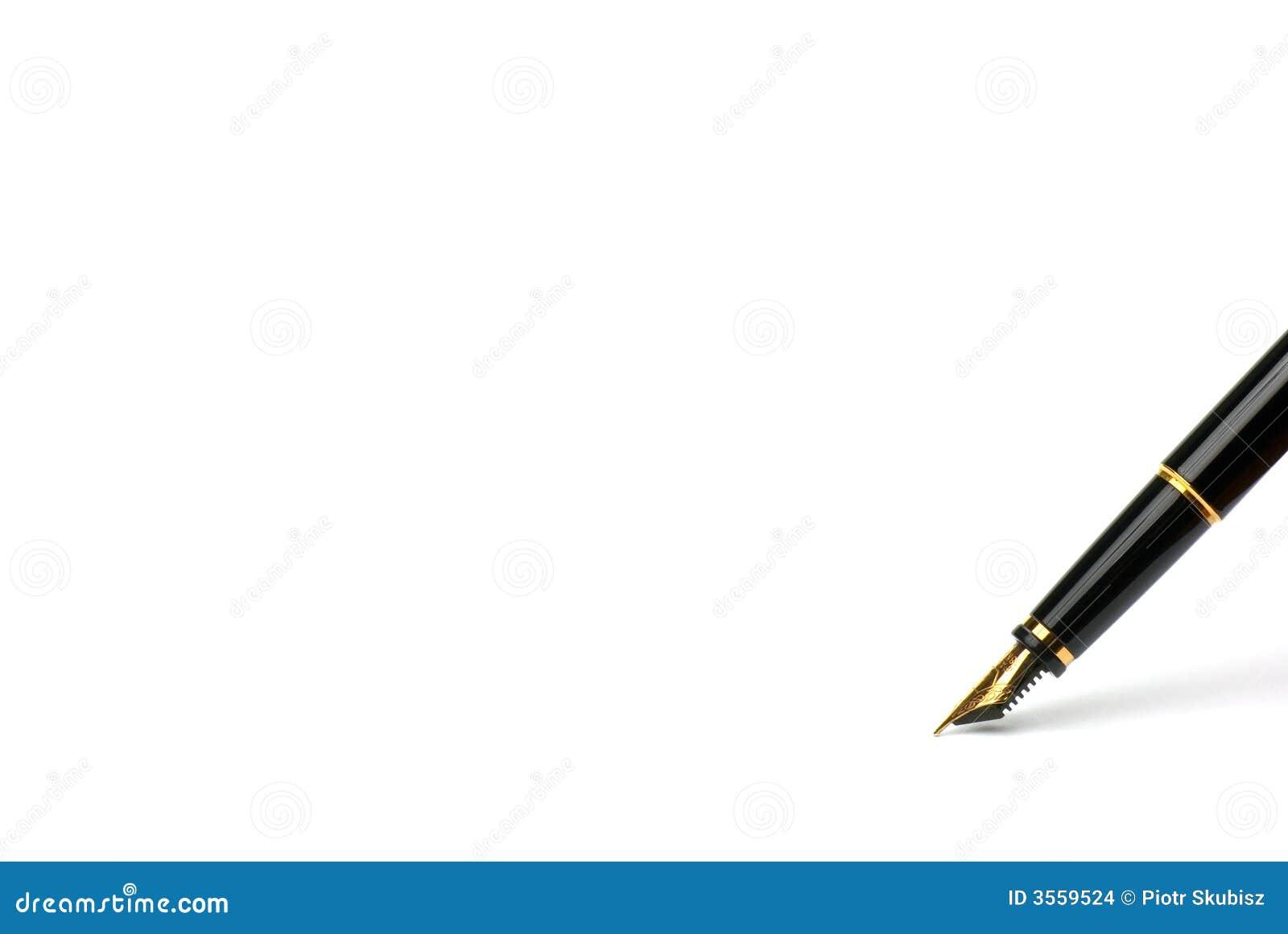 Penna esclusiva.