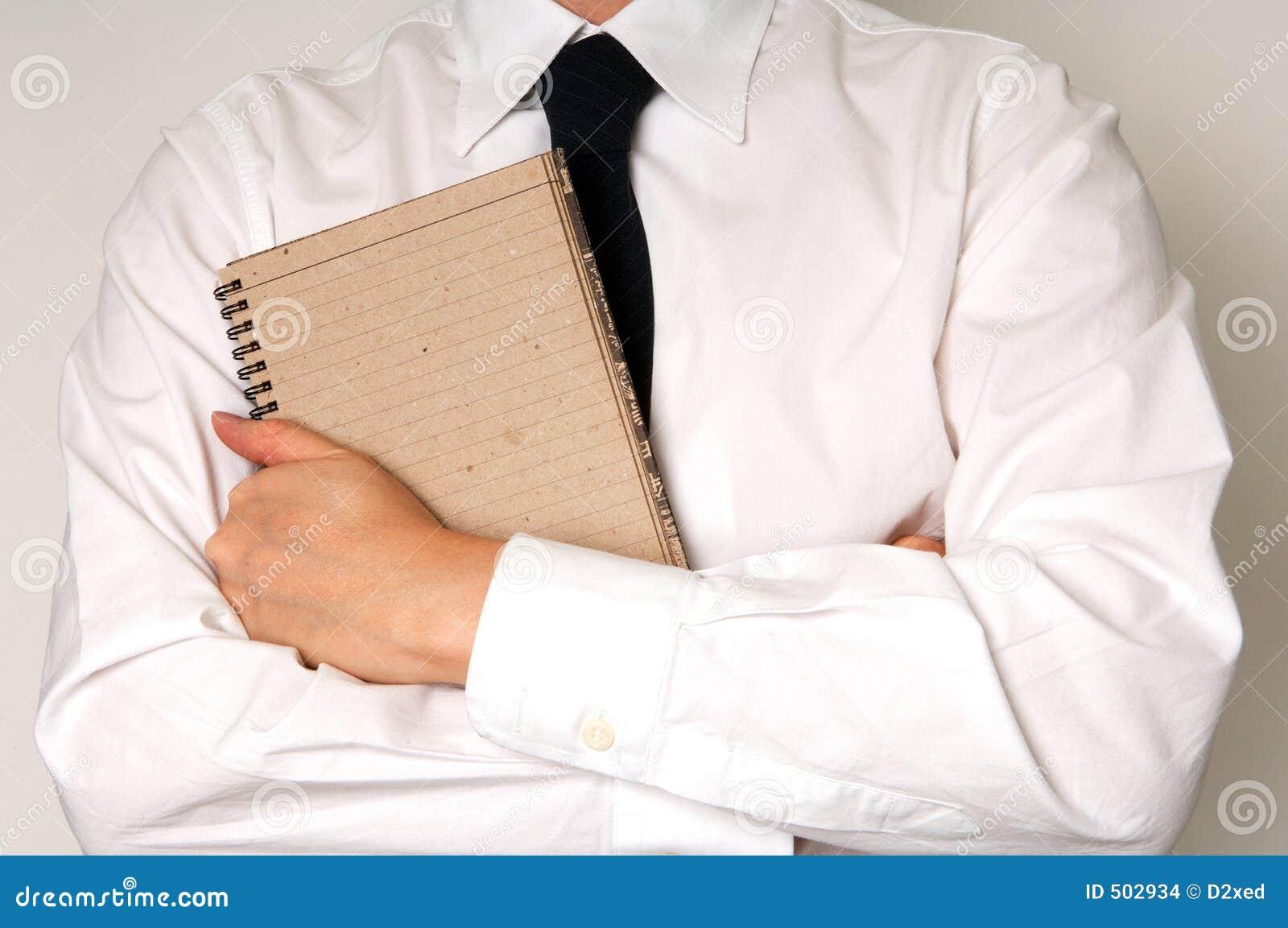 Penna för anteckningsbok för affärshållman