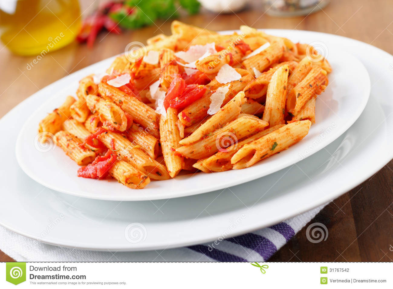 fresh pasta with a hot tomato sauce and parmesan cheese mr no pr no 2 ...