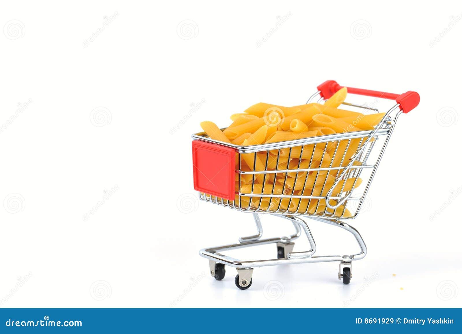 Penne na cesta de compra