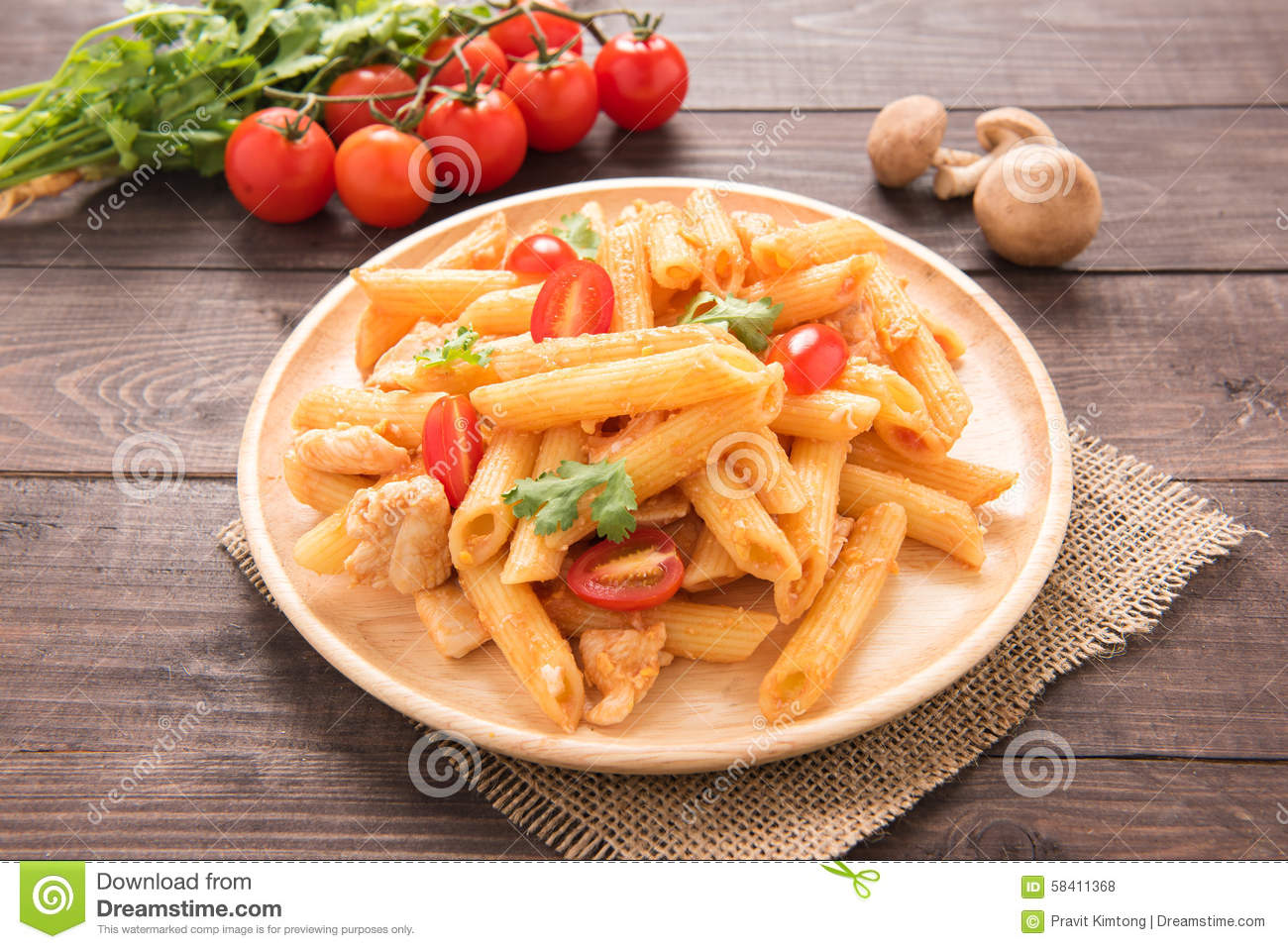 ... penne and chicken with tomato sauce chicken penne pasta with tomato