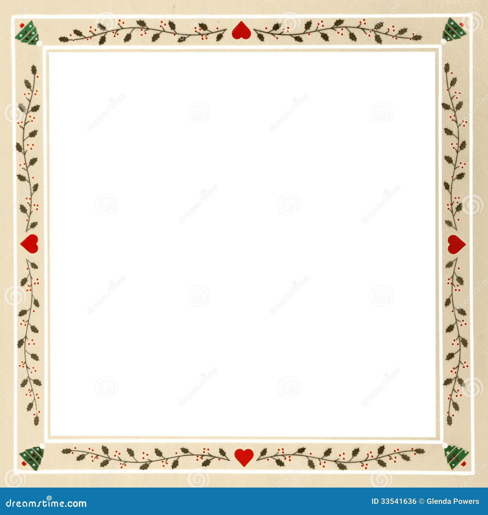 Pennsylvania Dutch Christmas Frame Royalty Free Stock Image ...