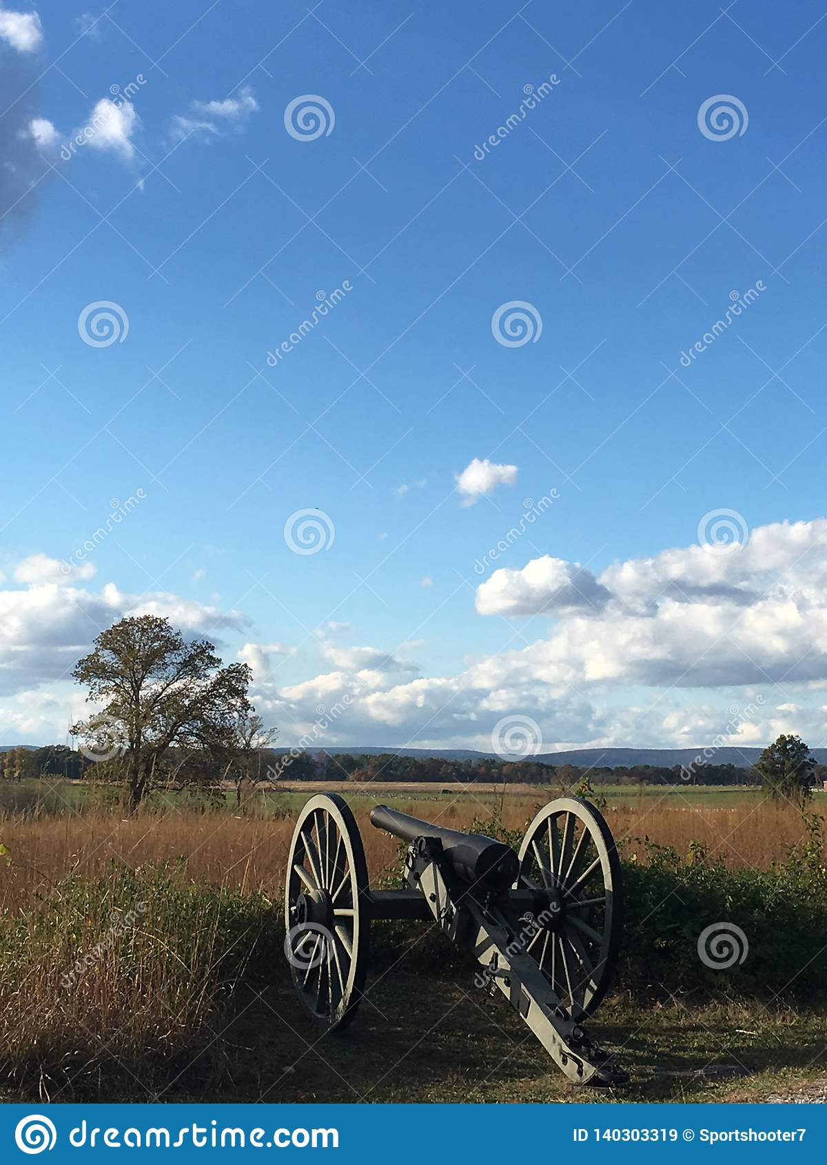 Pennsylwania zabytek przy Gettysburg pole bitwy Gettysburg, Pennsylwania