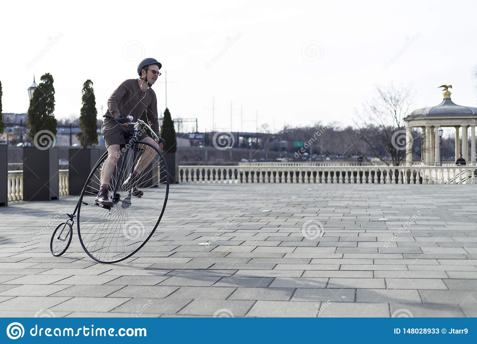 Penny Farthing Bicycle in Philadelphia