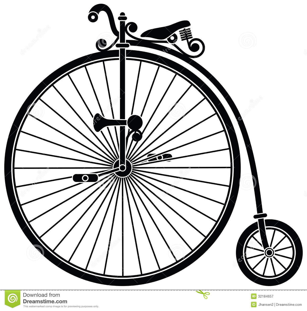 Penny Farthing Bicycle