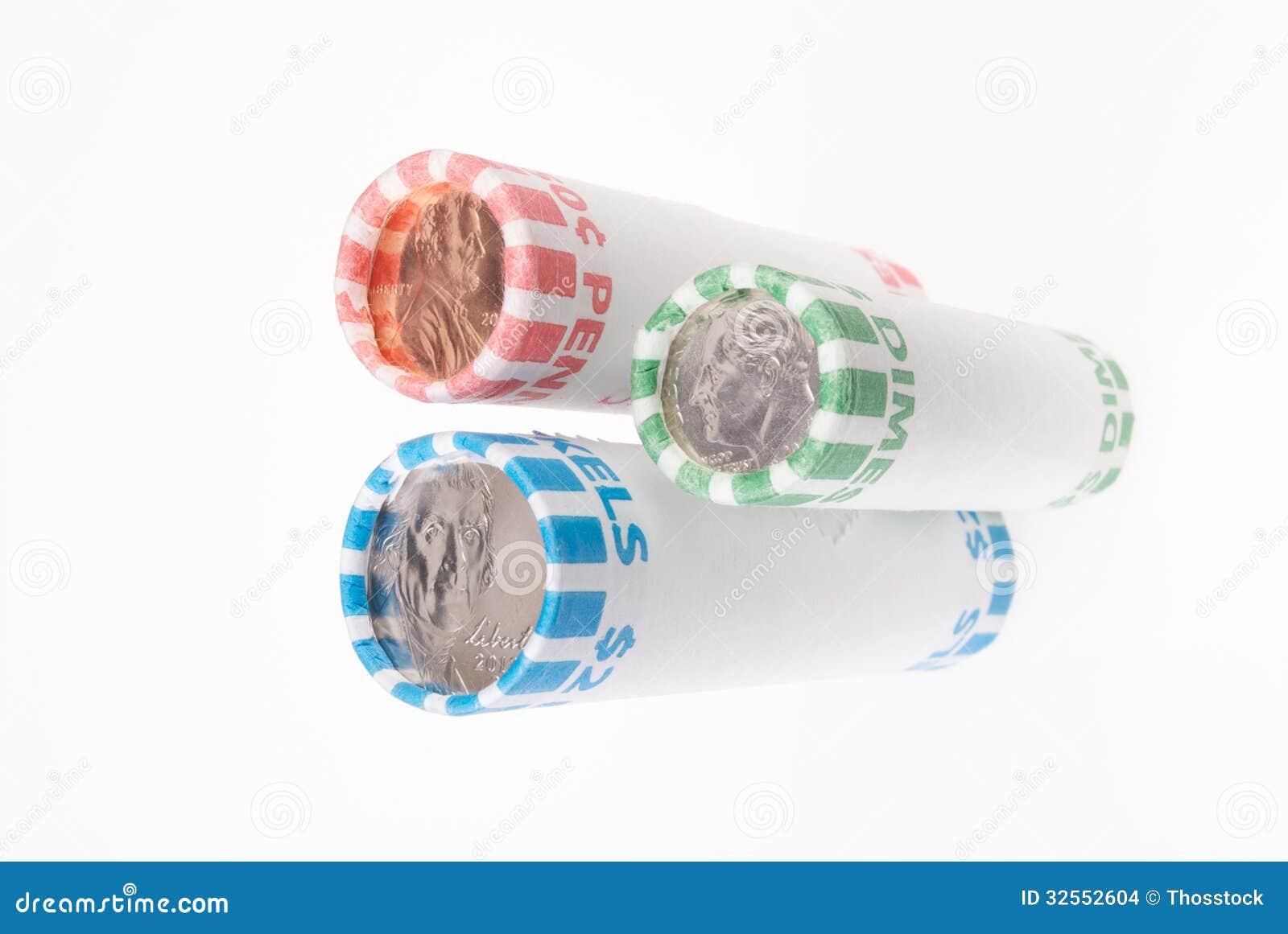 Penny Nickel Dime Rolls