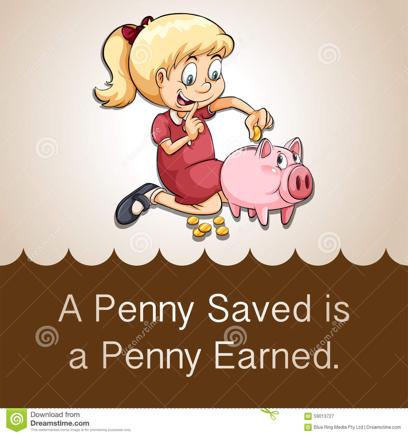 essay on penny saved is a penny earned What does the phrase 'a penny saved is a penny earned' mean find out the phrase's definition & origin, and get examples of how to use it in a sentence.