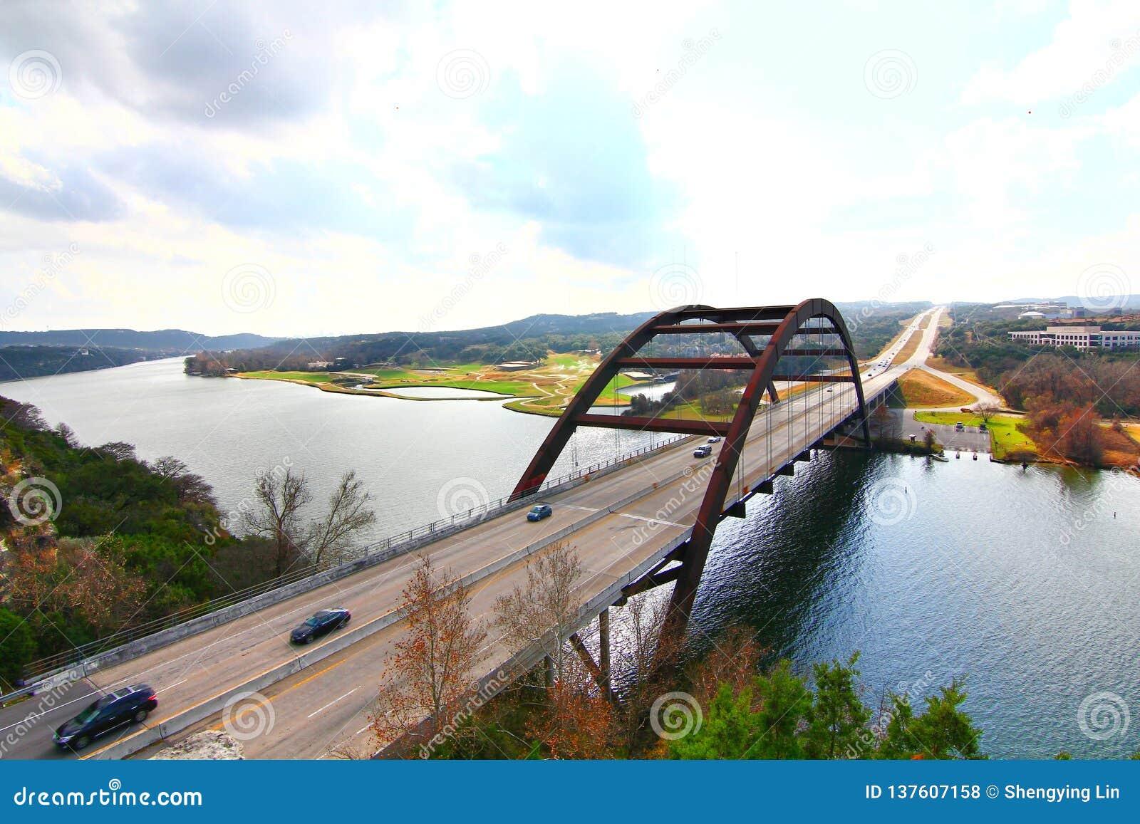 Pennybacker-Brücke oder Brücke 360