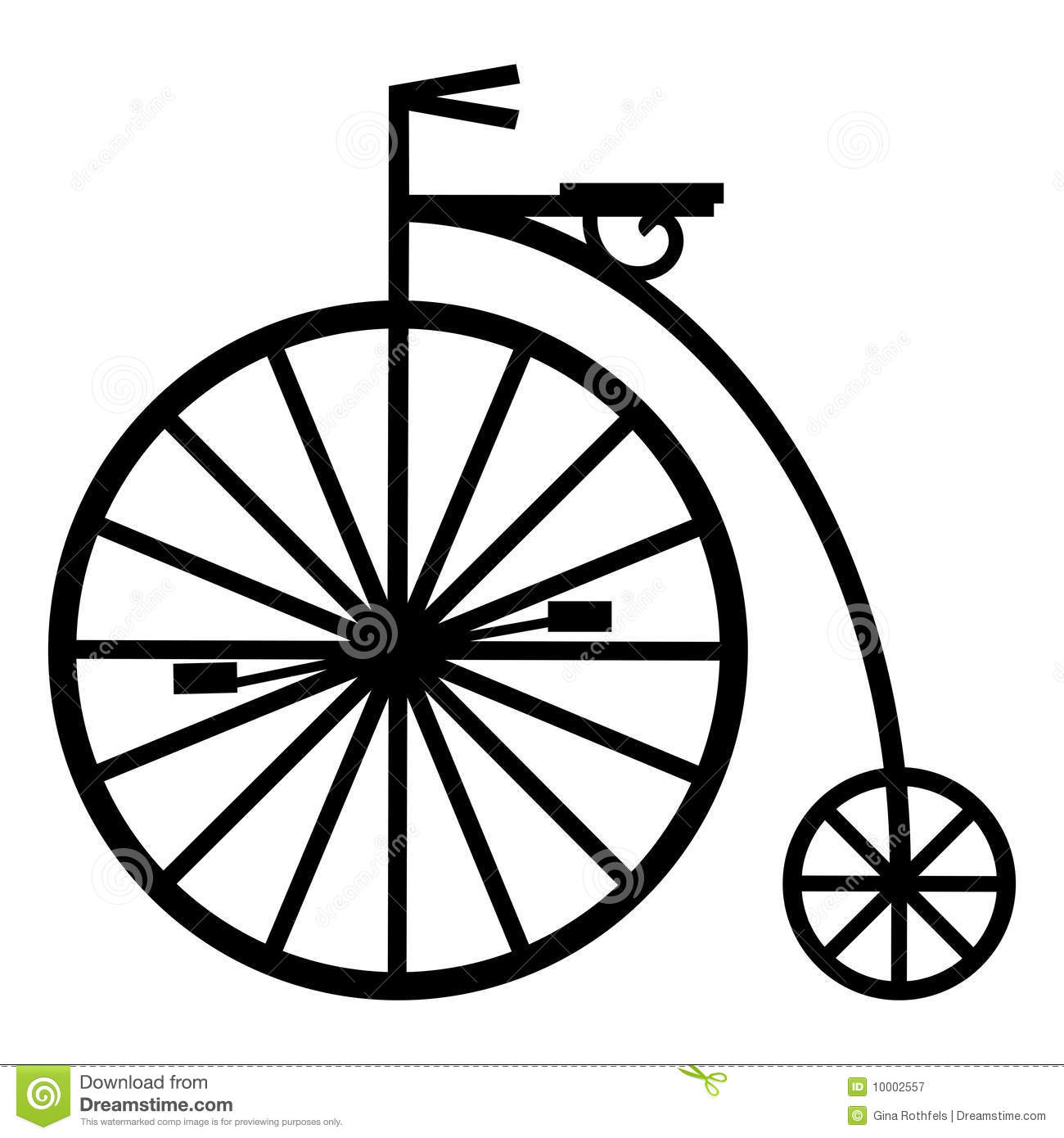 Pennyfarthing Royalty Free Stock Photography Image 10002557
