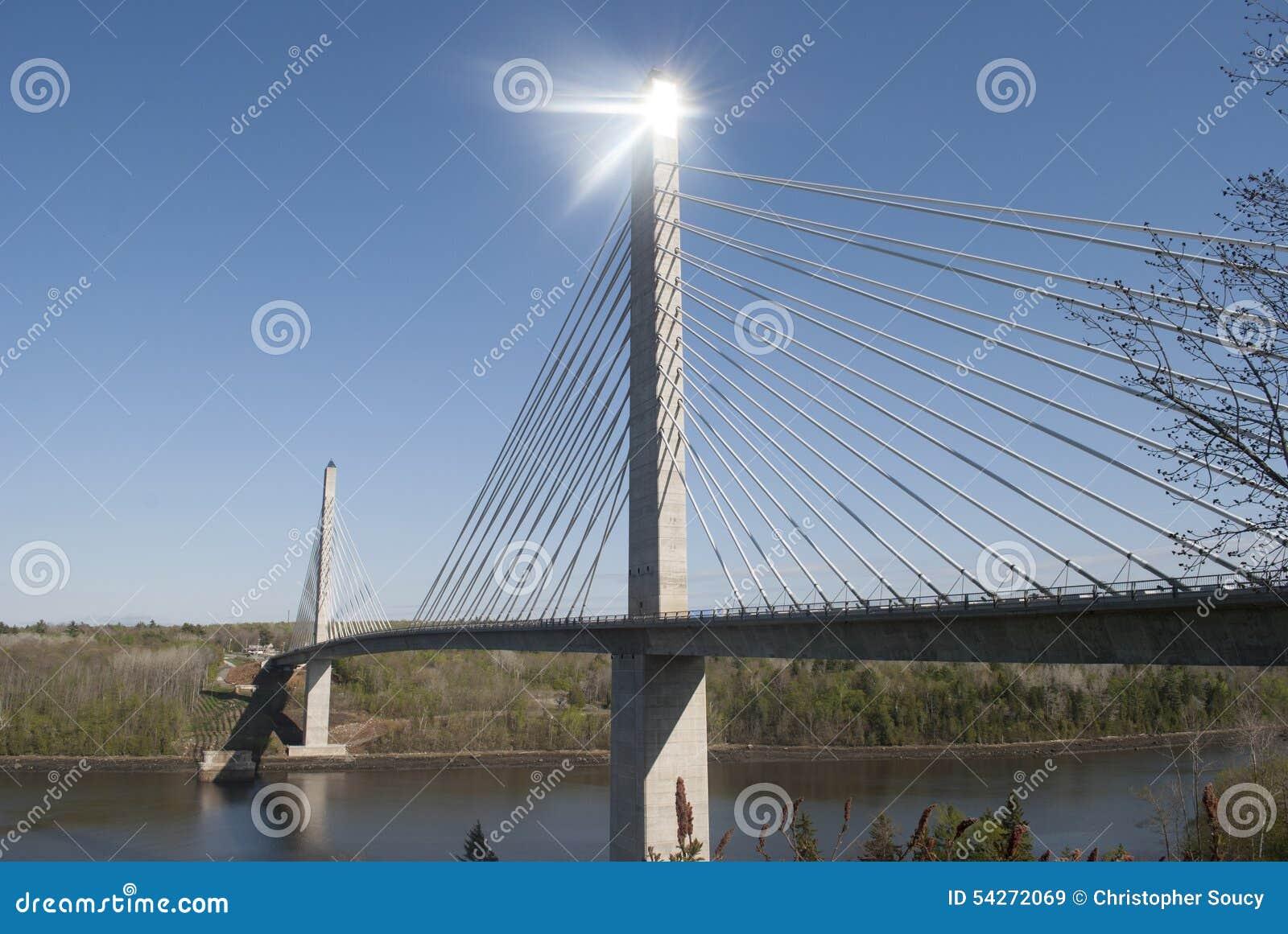 Penobscot restringe il ponte e l osservatorio