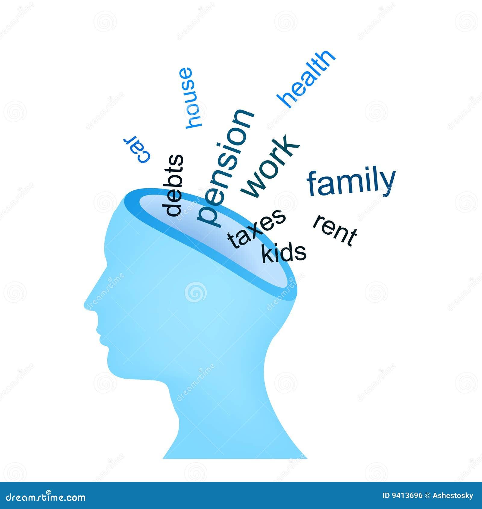 Pensées d ennui à l esprit