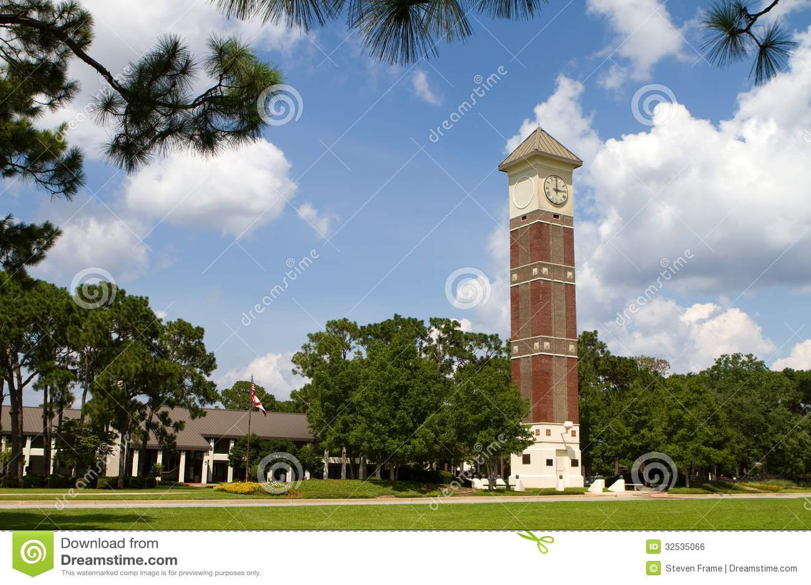 Pensacola State College Royalty Free Stock Image Image