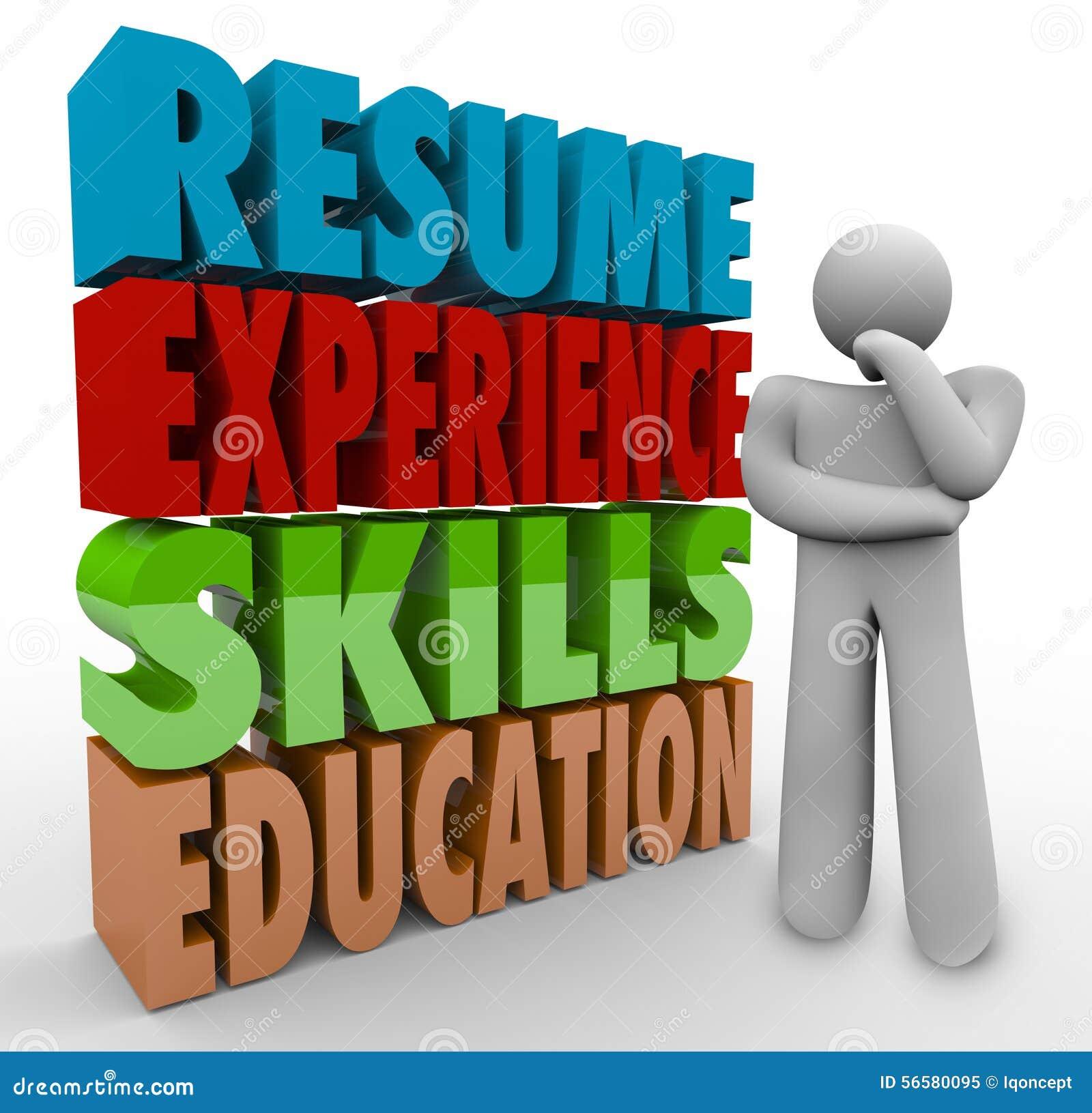 Pensador De La Educación De Las Habilidades De La Experiencia Del ...