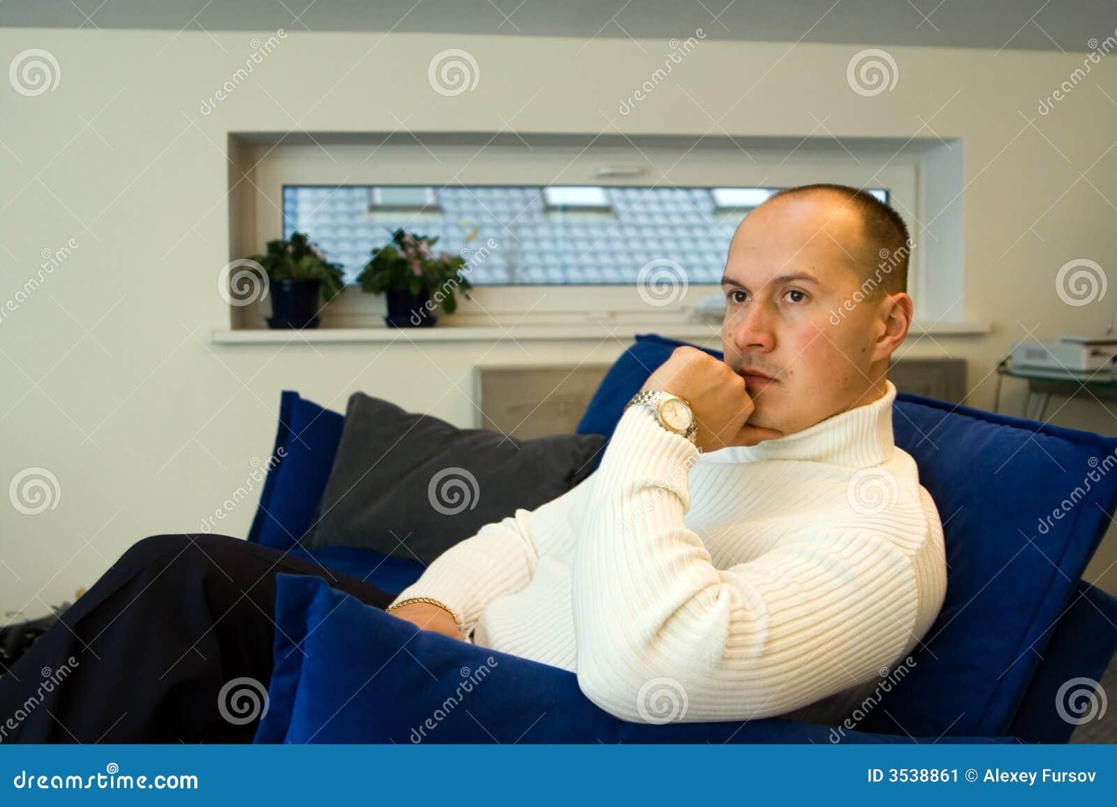 Pensamiento del hombre de negocios