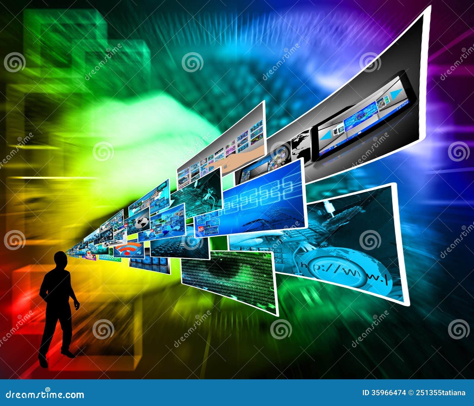 Pensamientos de la alta tecnología