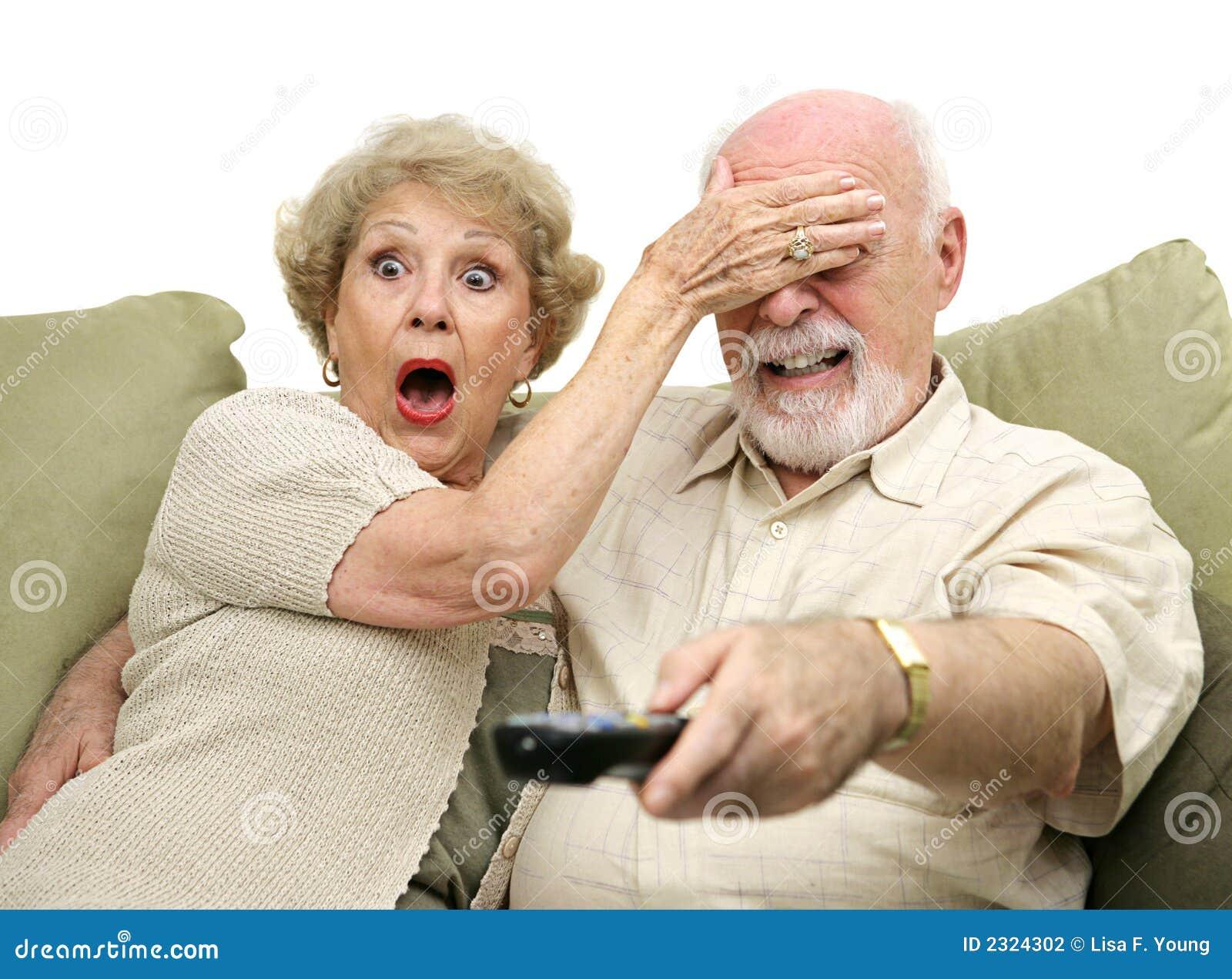 Pensionärer stöde tv:n