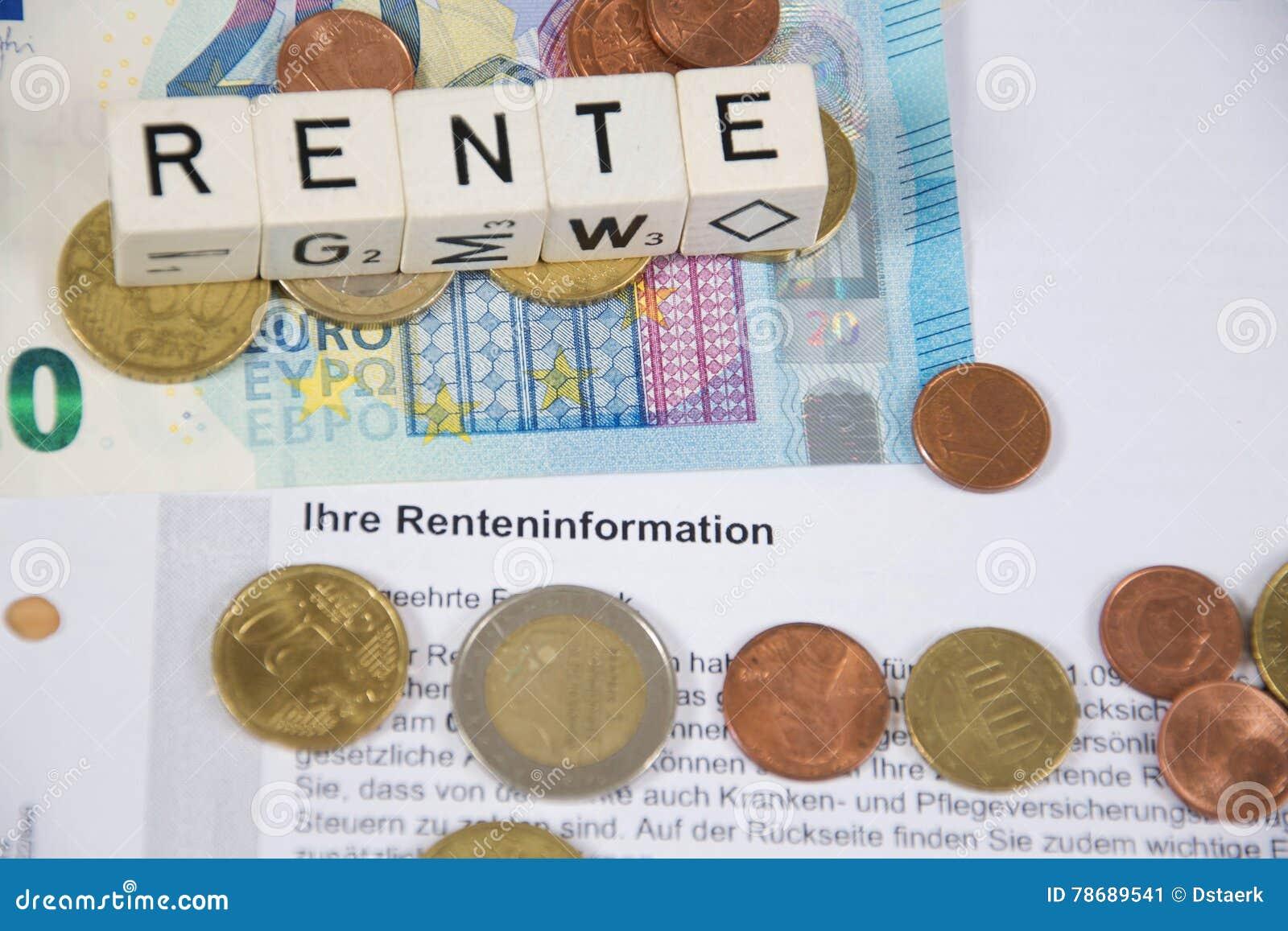 Pension Rente