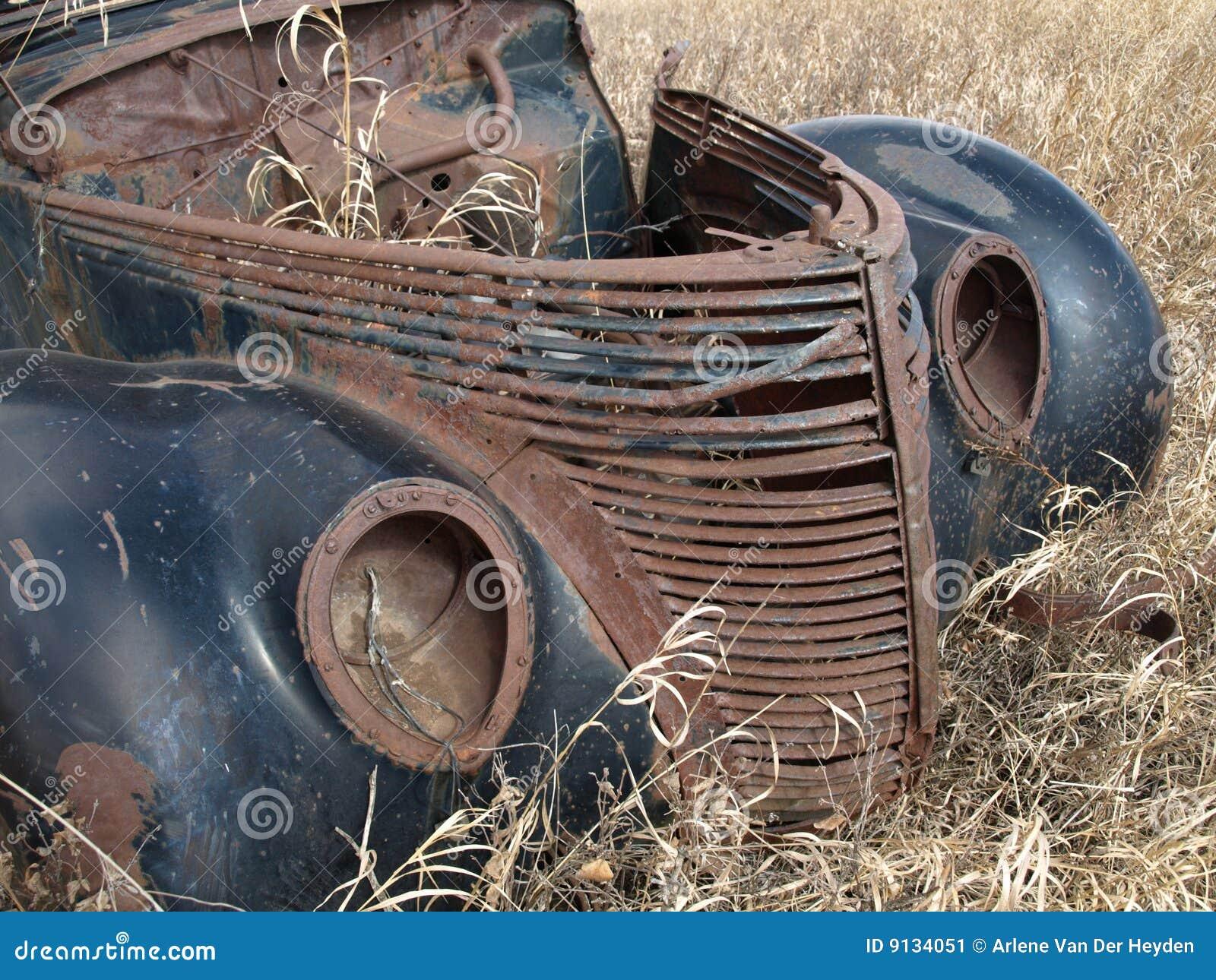 Pensioniertes Automobil.