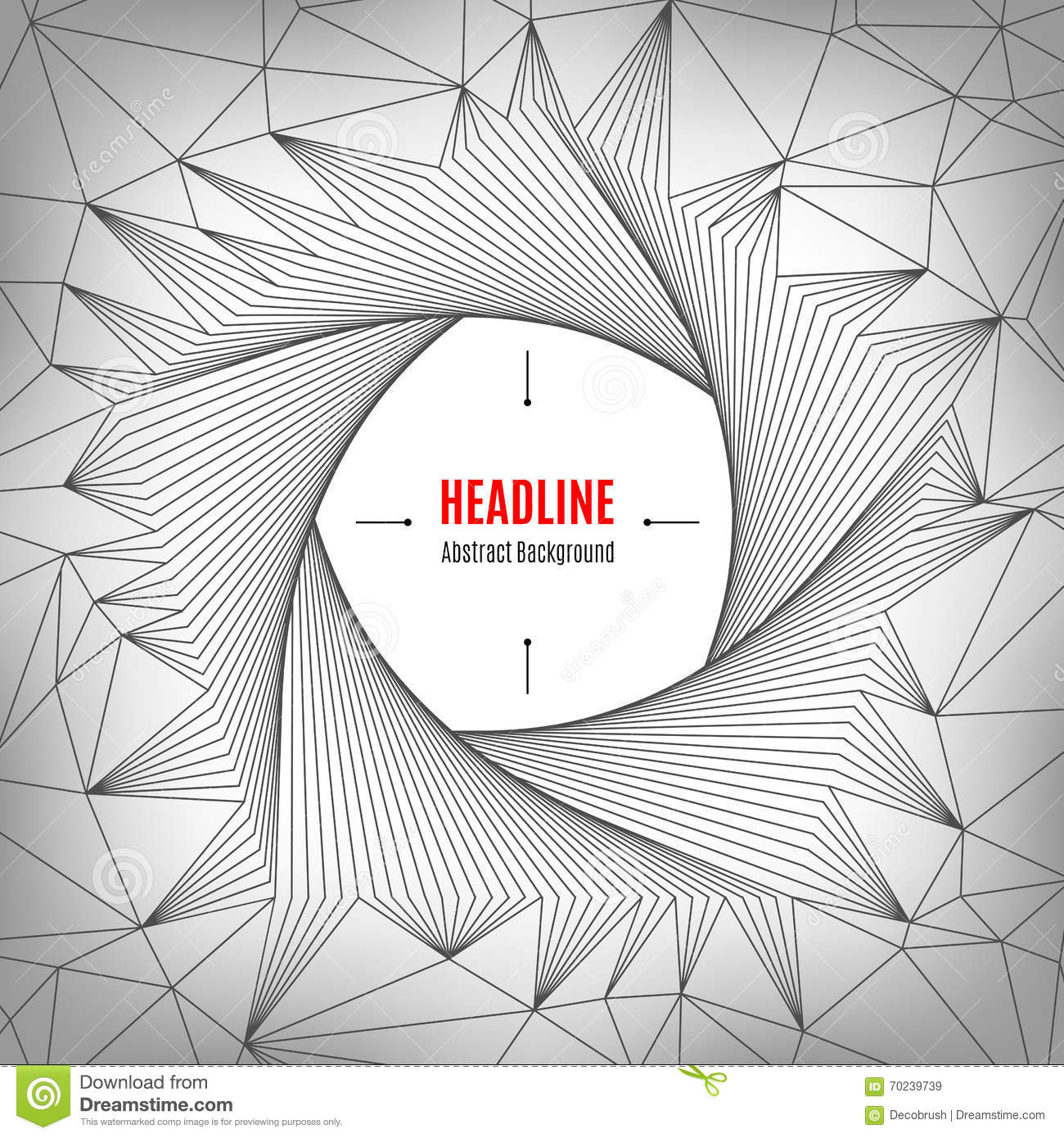 Line Art Poster Design : Pentagon line art design pattern geometric polygonal