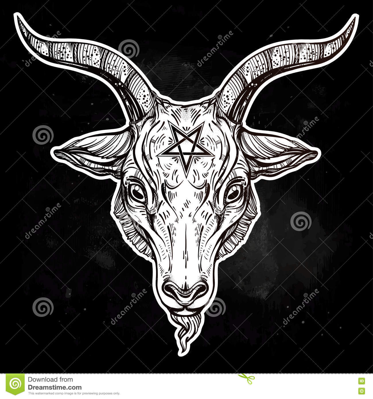 The Gallery For Gt Baphomet Goat