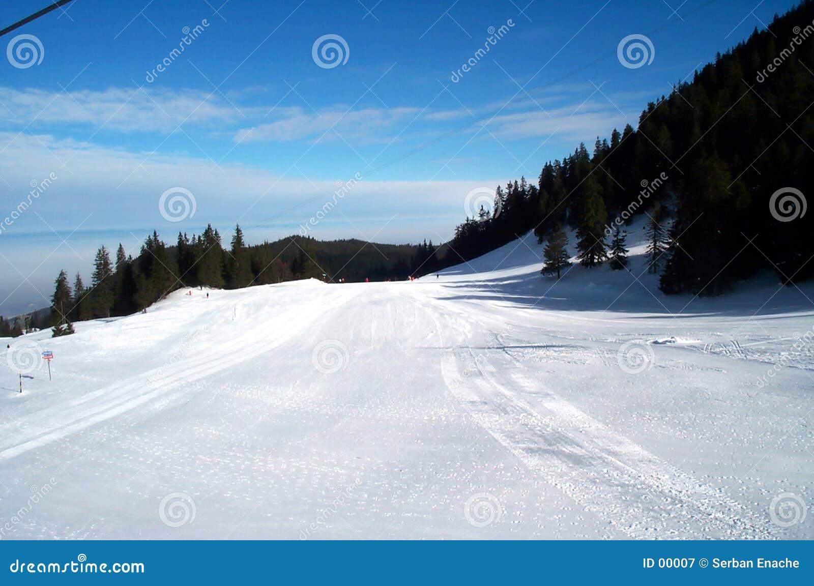 Pente de ski