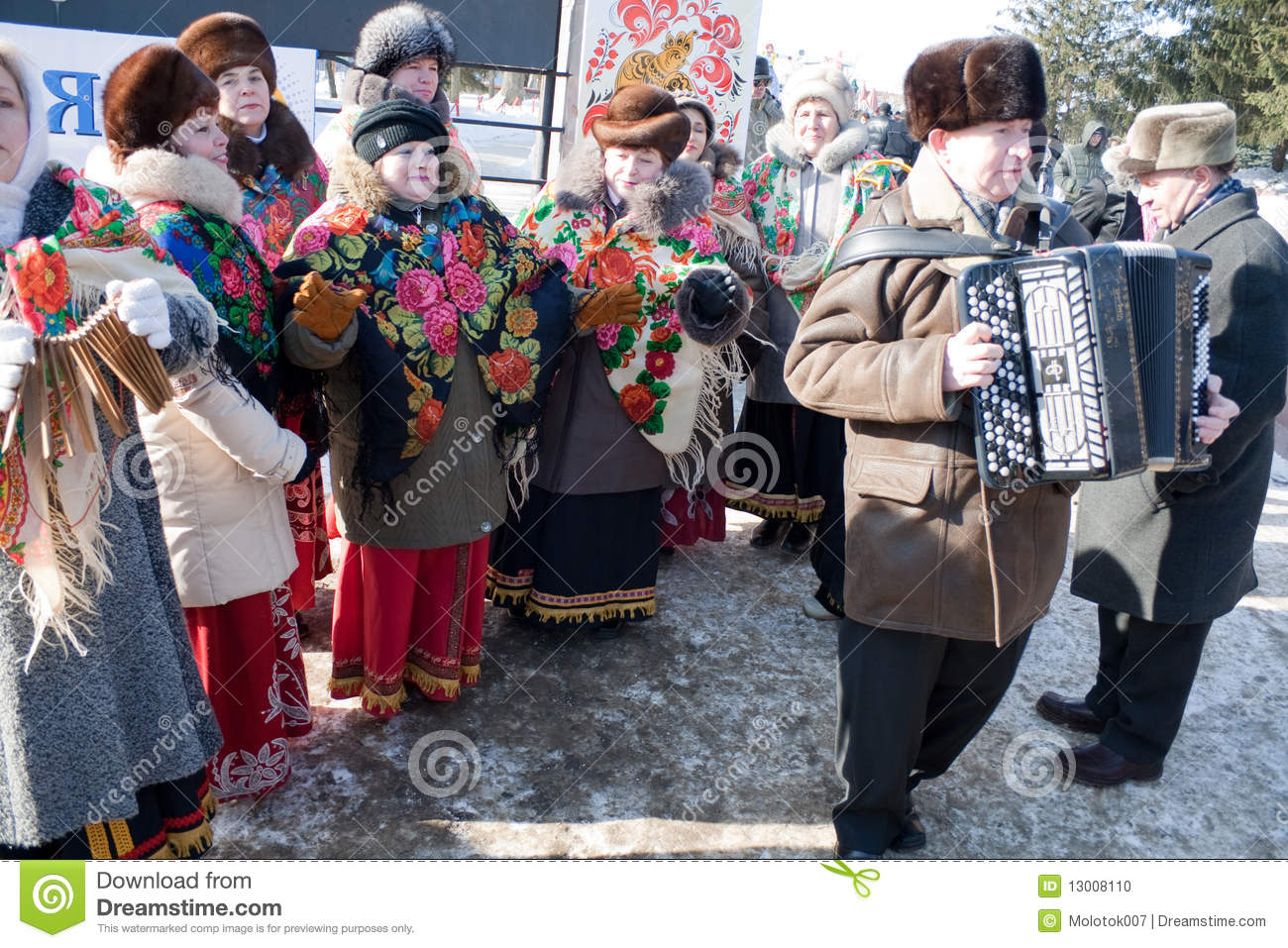 Penza Russia  city photos gallery : PENZA, RUSSIA February 14. Celebration of Shrovetide Maslenitsa in ...