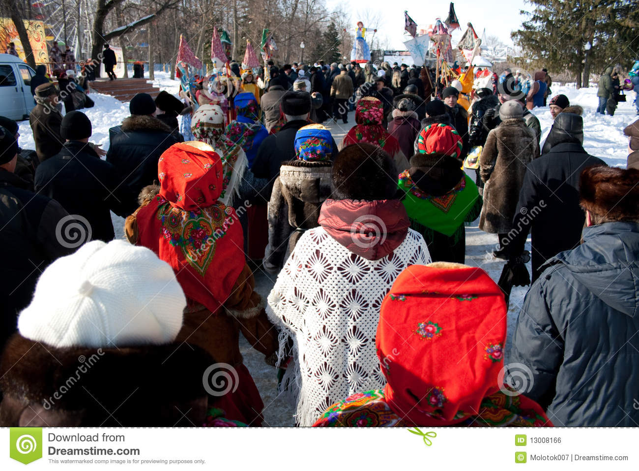 Penza Russia  city pictures gallery : PENZA, RUSSIA February 14. Celebration of Shrovetide Maslenitsa in ...