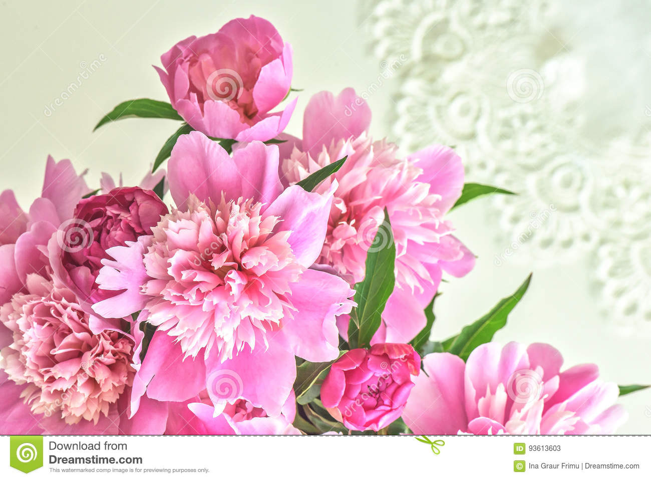 Peony flowers bouquet springtime fresh natural composition stock download peony flowers bouquet springtime fresh natural composition stock image image of blossom izmirmasajfo