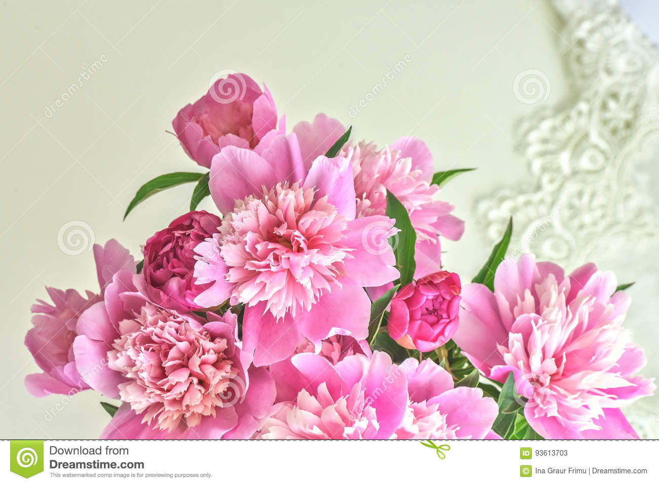 Peony flowers bouquet springtime fresh natural composition stock download peony flowers bouquet springtime fresh natural composition stock image image of fragrance izmirmasajfo