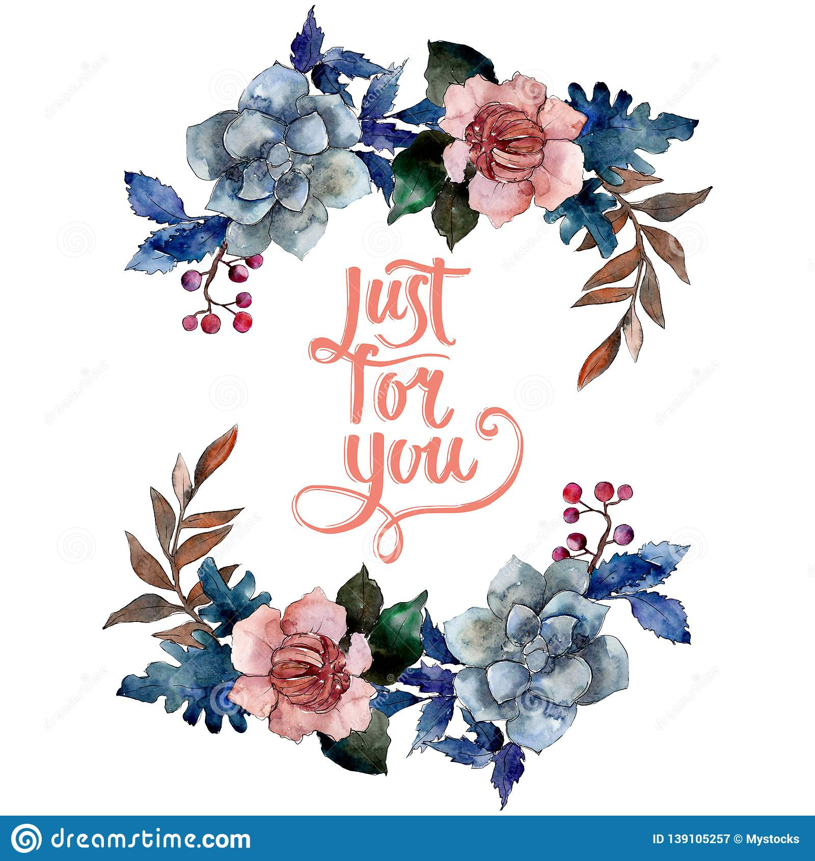 Peony And Succulent Bouquet Floral Flower Watercolor Background Illustration Set Frame Border Ornament Square Stock Image Image Of Fall Bouquets 139105257