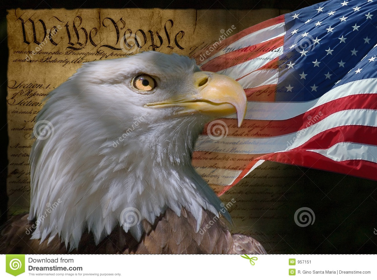 We The People Stock Image - Image: 957151