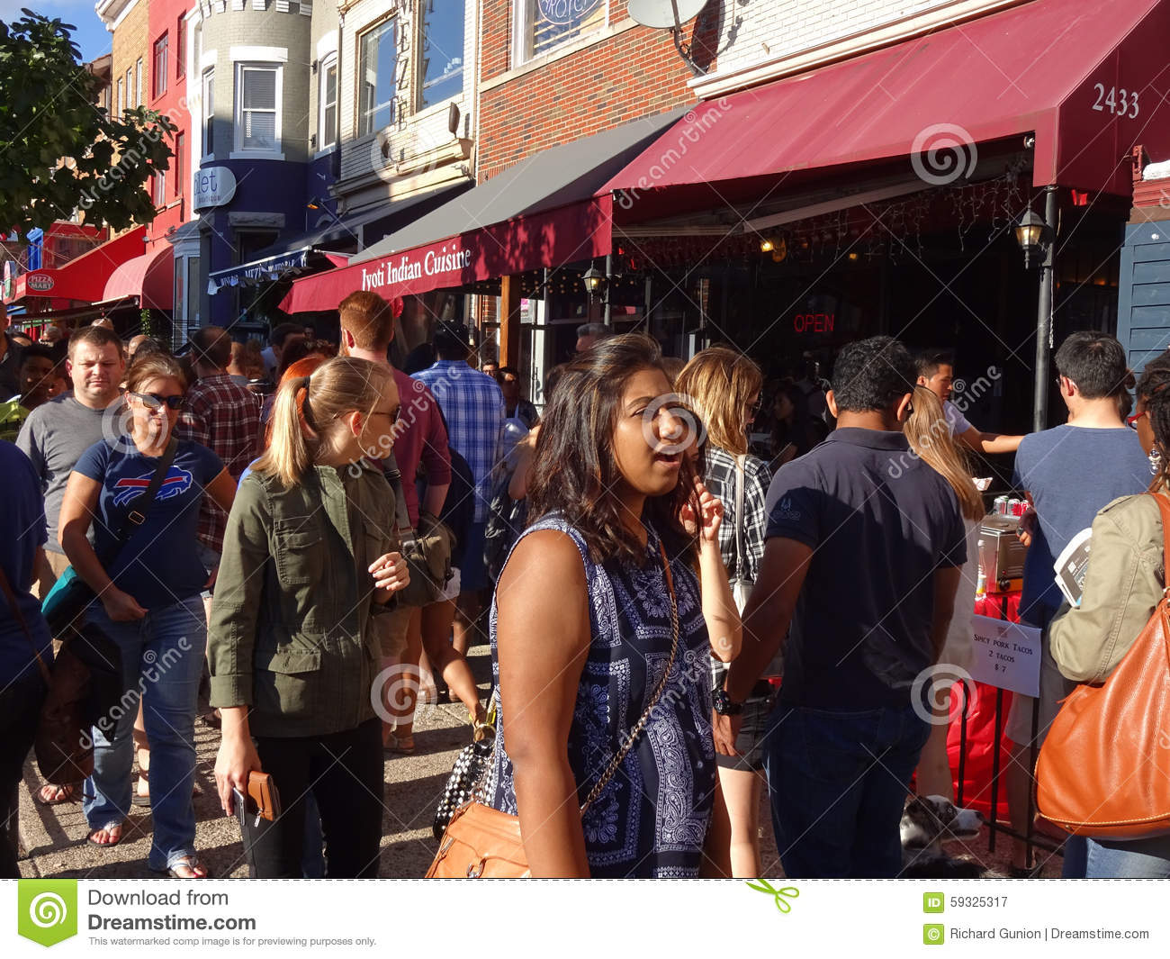 People On Adams Morgan Day Editorial Photography Image Of