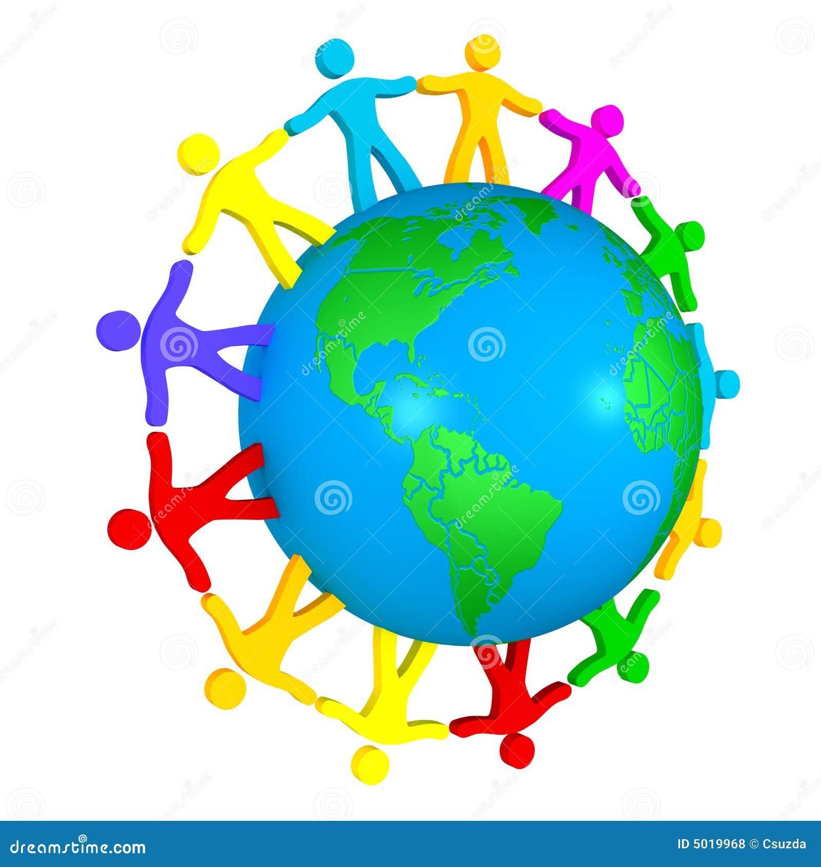 People Around The World Stock Illustration Illustration Of Earth